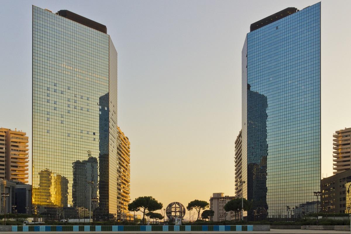 Napoli il Centro Direzionale di Kenzō Tange (e Renzo Piano) 1