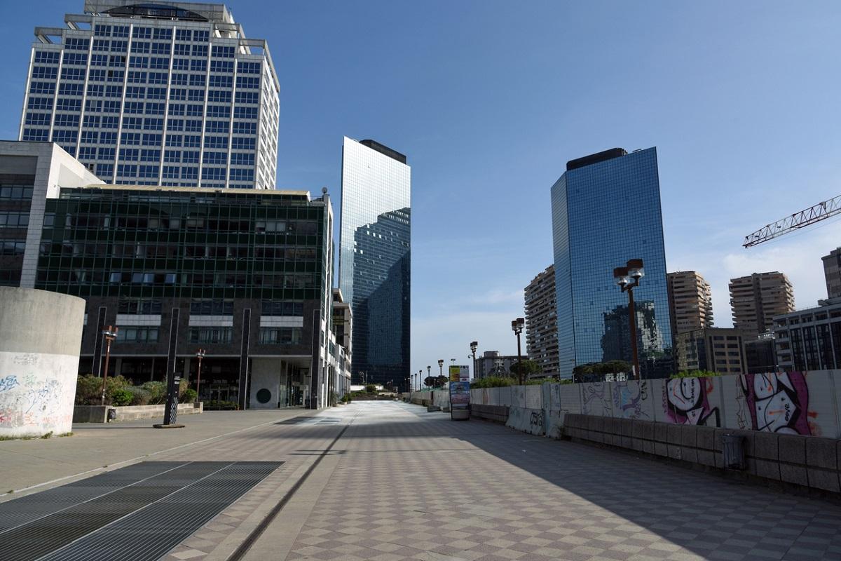 Napoli il Centro Direzionale di Kenzō Tange (e Renzo Piano) 3
