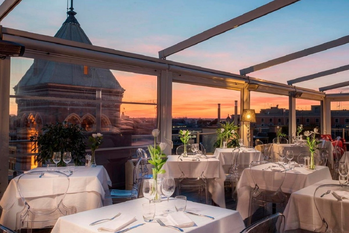 Ristoranti con terrazza a Roma - La Griffe