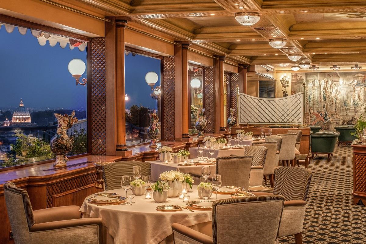 Ristoranti con terrazza a Roma - La-Pergola-Restaurant