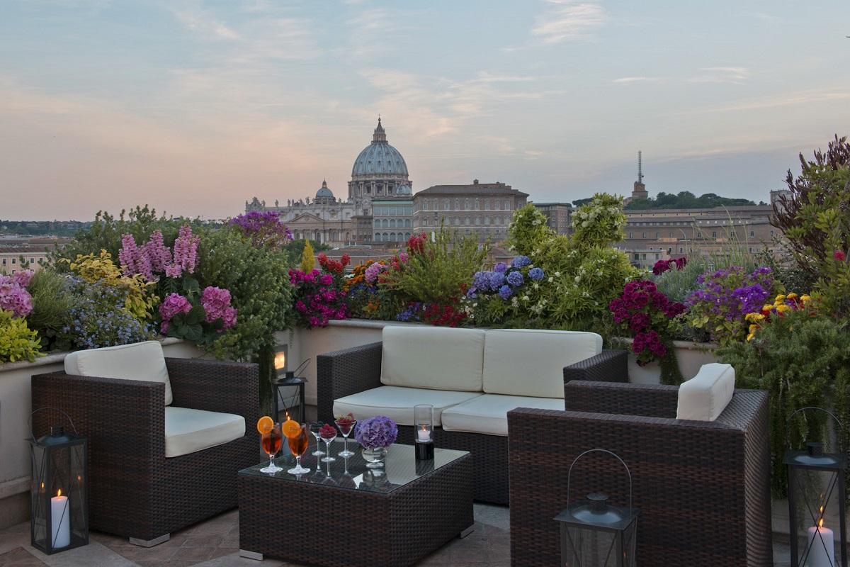 Ristoranti con terrazza a Roma - Les etoiles2