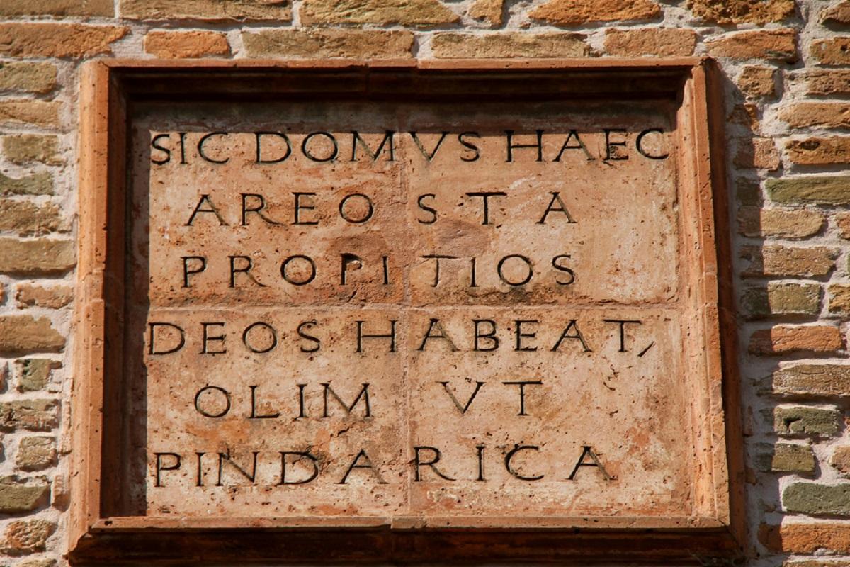 Da Giorgio Bassani a Ludovico Ariosto la Ferrara letteraria e artistica - casa di Ariosto Renaud Camus v