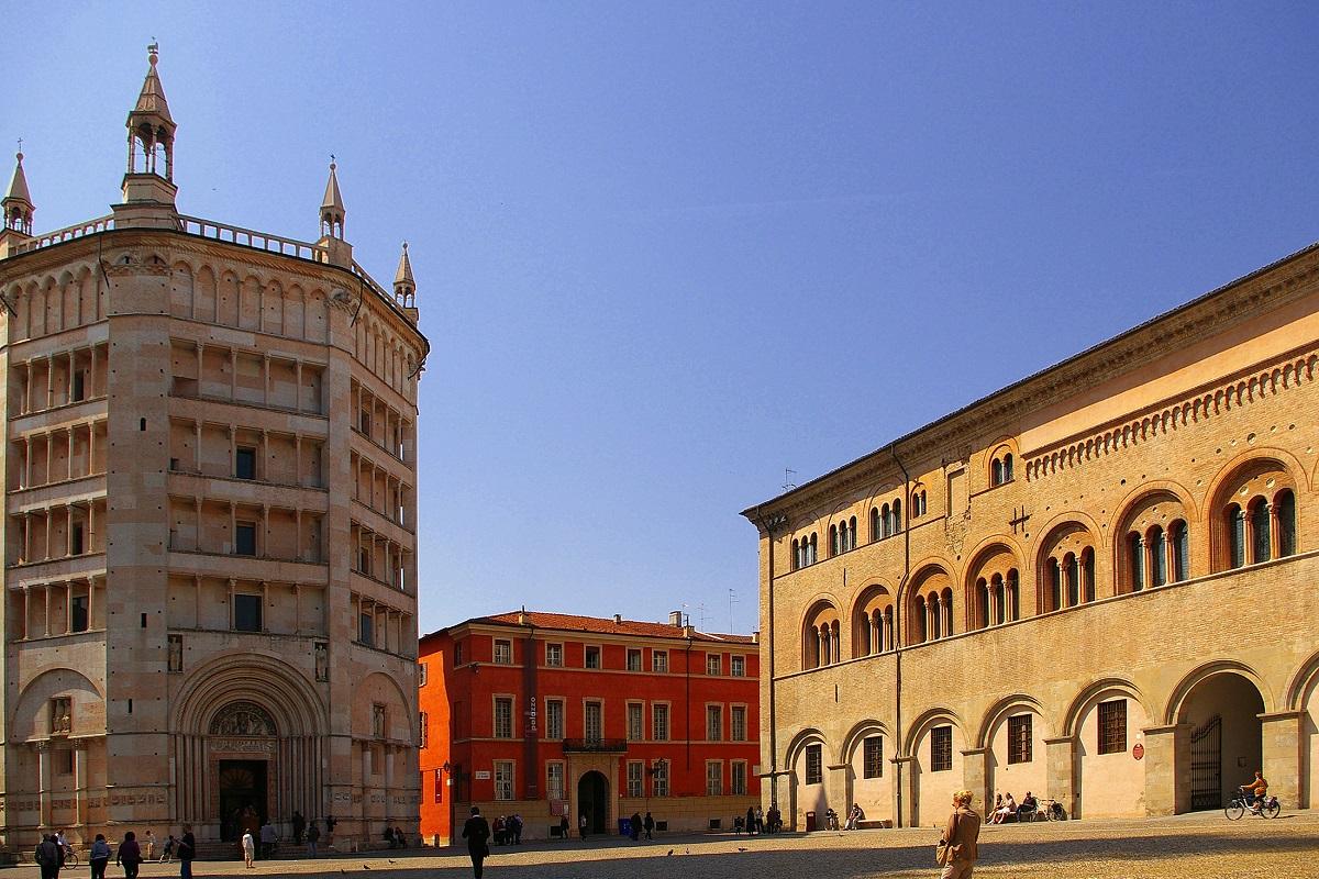 Città rinascimentali - Parma Battistero credits K B