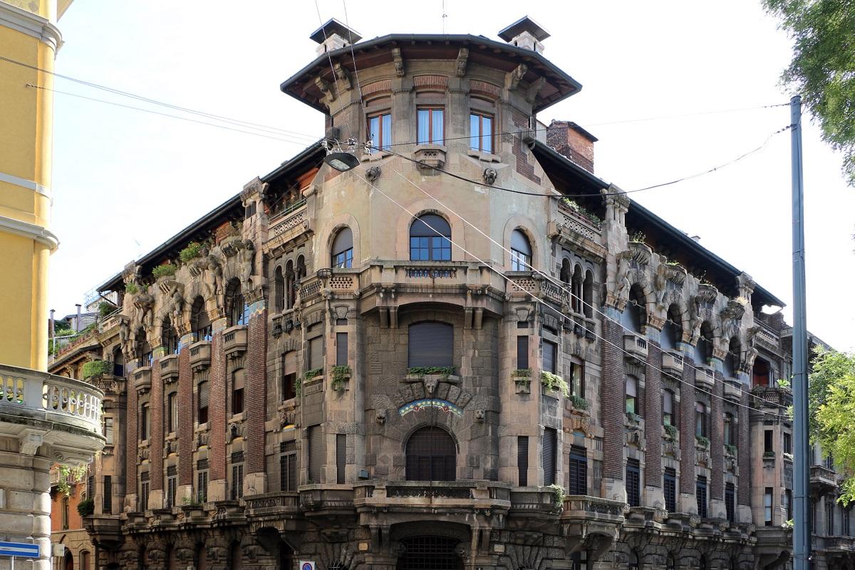 Liberty a Milano - Casa Berri Meregalli credits Sailko