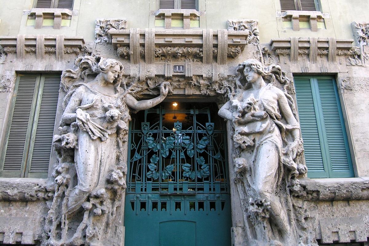 Liberty a Milano - Casa Campanini credits Italia Liberty