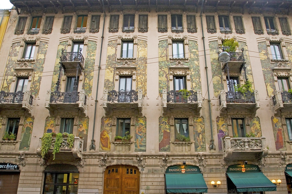 Liberty a Milano - Casa Galimberti credits Italia Liberty