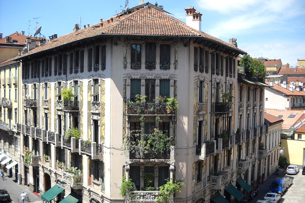 Liberty a Milano - Casa Galimberti credits MSacerdoti