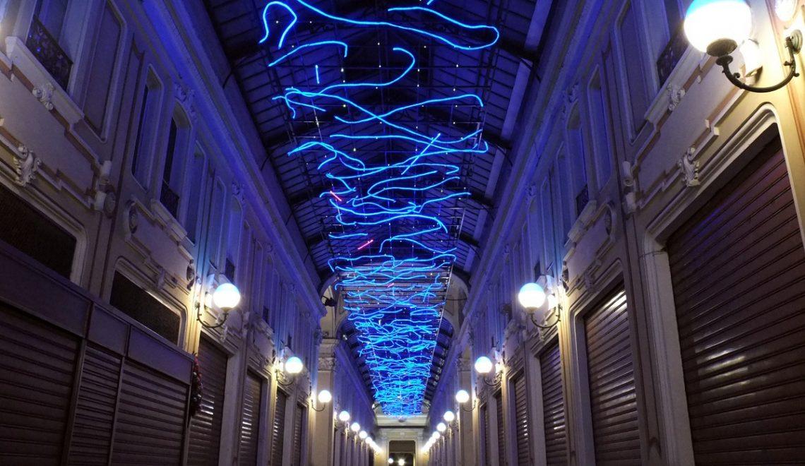 Luci d'ArtistaTorino MarcoGastini_L'energia che unisce si espande nel blu