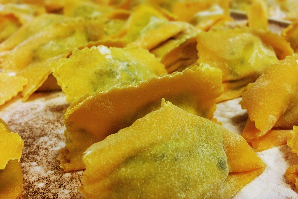 Mantova tortelli mantovani Trattoria Da Claudio 1