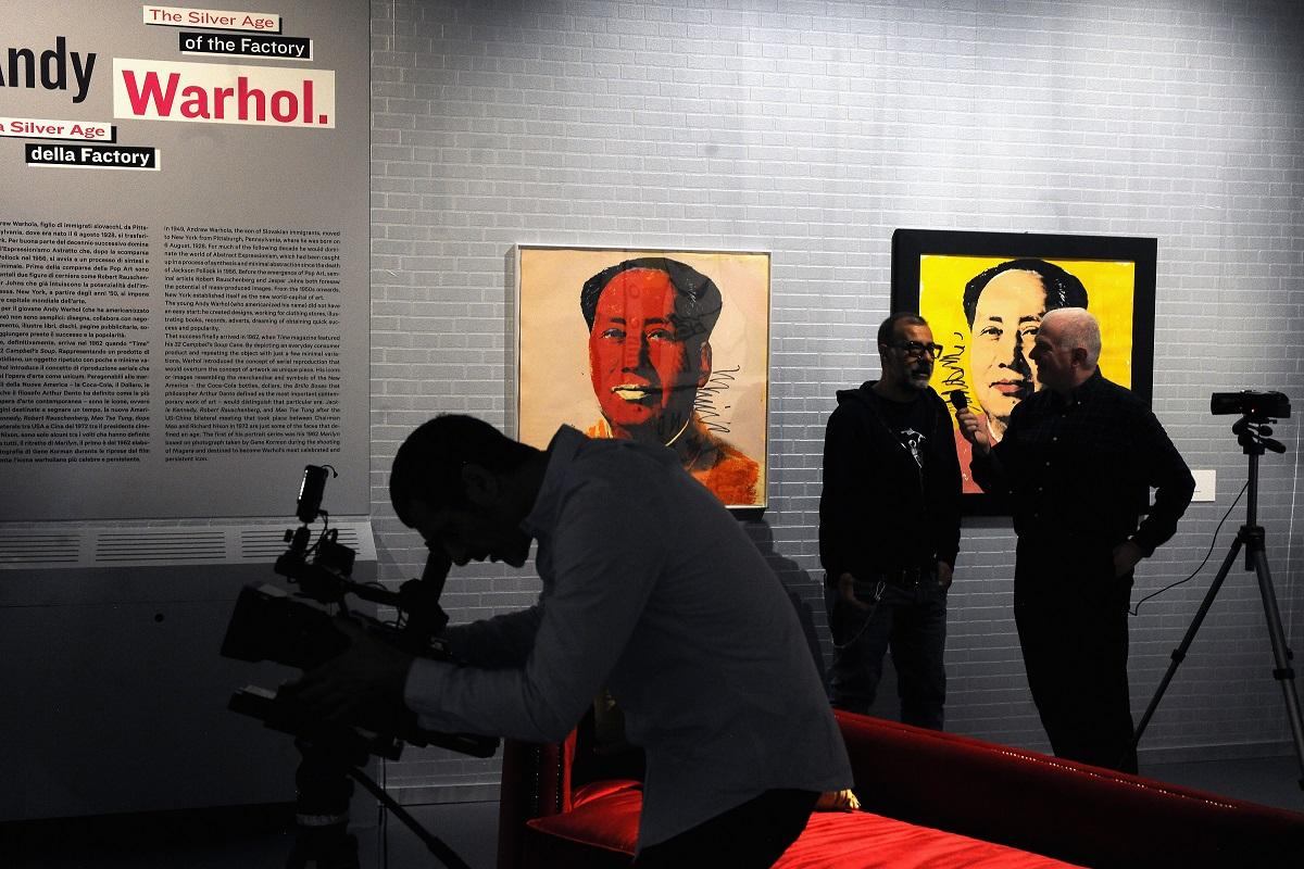 Opening Warhol and Friends.New York negli anni '80