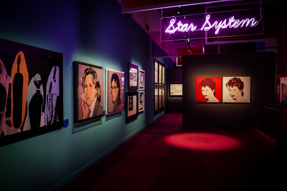 Mostra Andy Warhol Roma star - credits Gianfranco Fortuna