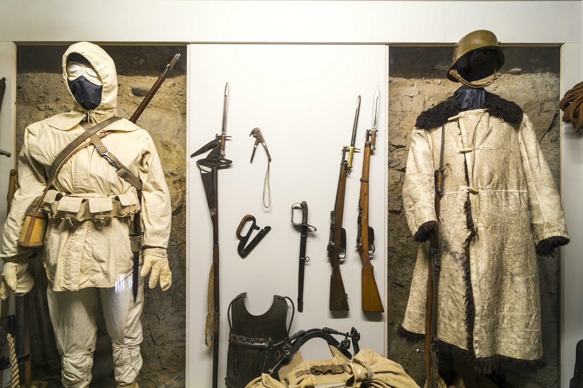 Museo Storico Italiano della Guerra nel castello di Rovereto - Guerra bianca_Museo Guerra Rovereto_low