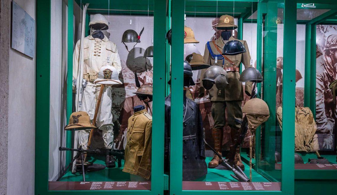 Il Museo Storico Italiano della Guerra nel castello di Rovereto