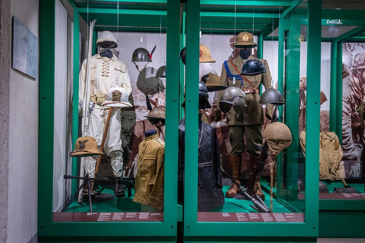 Museo Storico Italiano della Guerra nel castello di Rovereto - La pelle del soldato17_Graziano Galvagni ph_superlow
