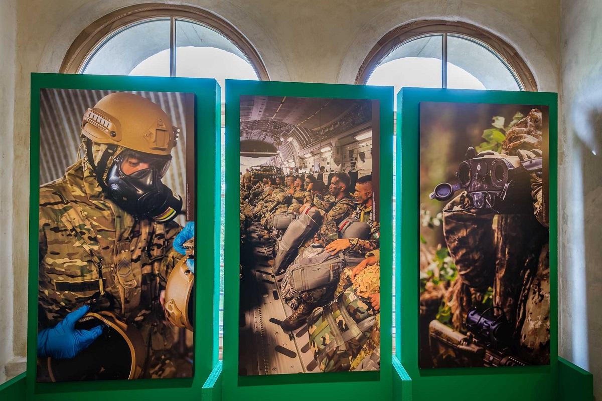 Museo Storico Italiano della Guerra nel castello di Rovereto - La pelle del soldato41_Graziano Galvagni ph_superlow