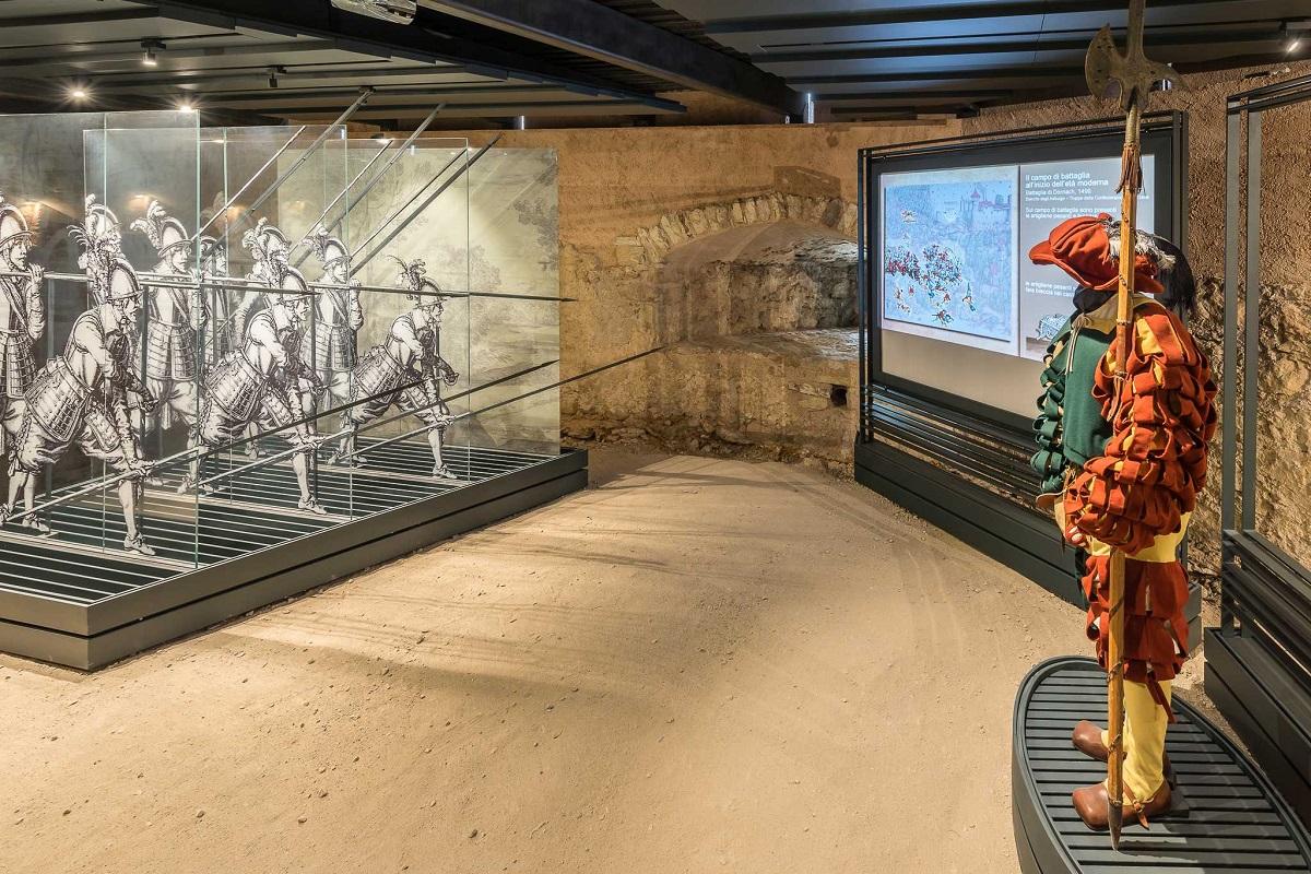 Museo Storico Italiano della Guerra nel castello di Rovereto - Torrioni Castello Rovereto2_Graziano Galvagni ph_low