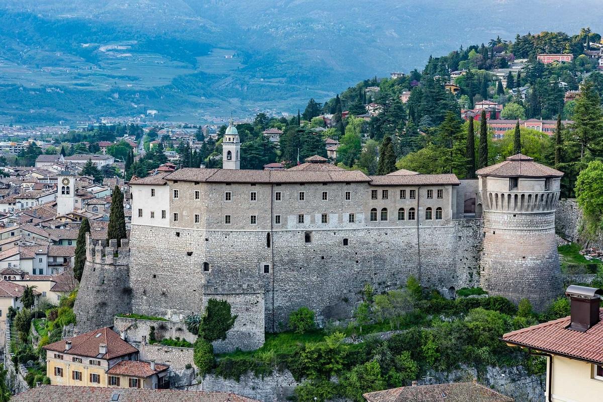Museo Storico Italiano della Guerra nel castello di Rovereto - Viste Castello Rovereto1_Graziano Galvagni ph_low