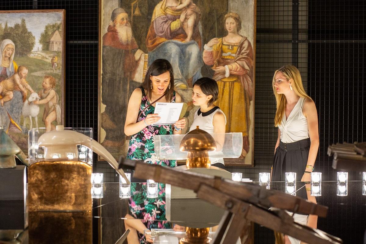Al Museo della Scienza e della Tecnica di Milano coi bambini LeonardoParade 2