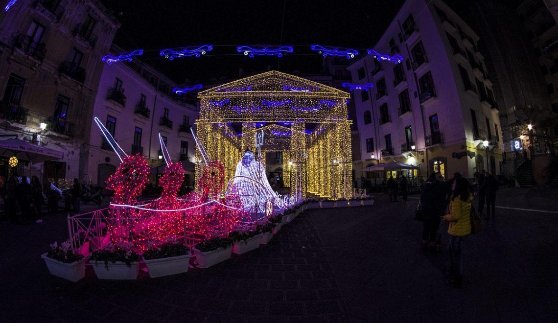 Natale a Salerno Luci Artista 2018 19 credits Francesco Borriello via Flickr