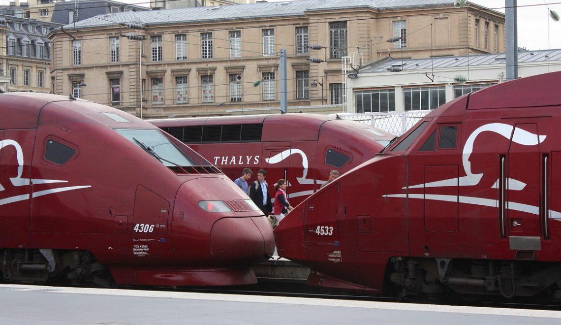 In treno da Bruxelles ad Amsterdam? Ad Alta Velocità, col Thalys