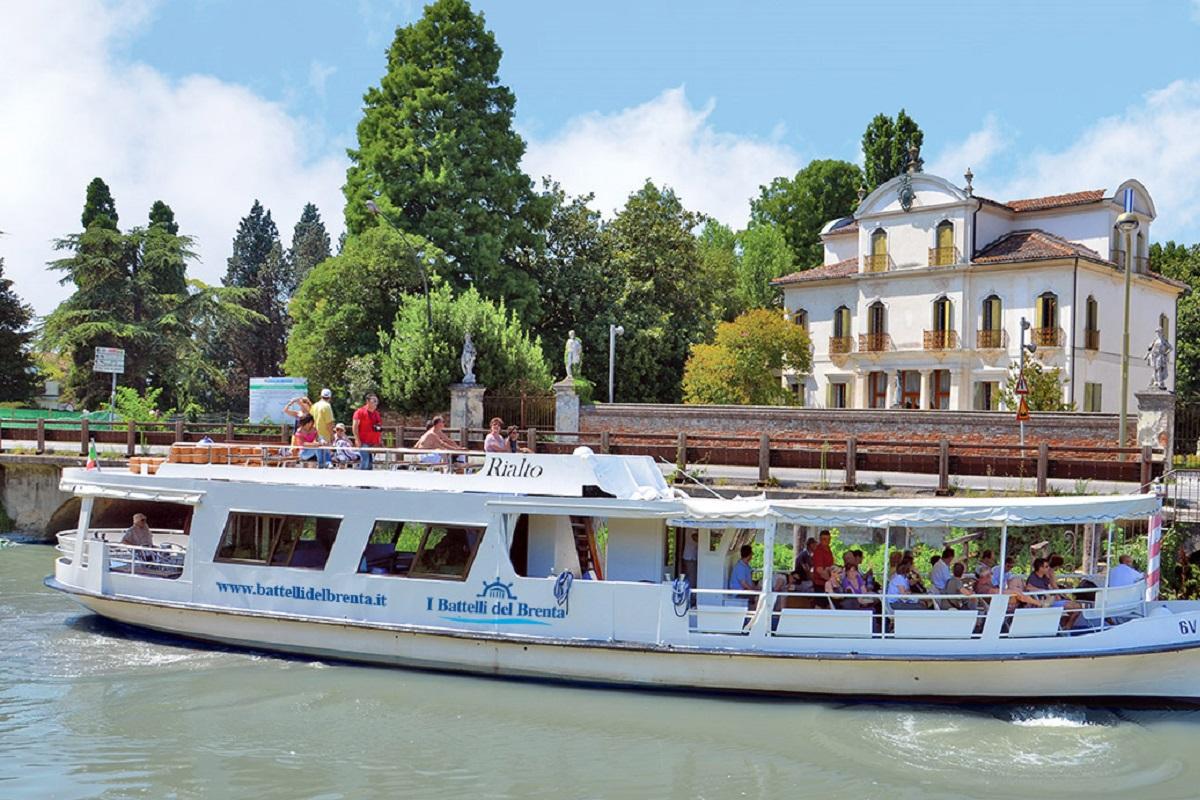 Crociera fluviale Ville del Brenta - credits Burchietto it