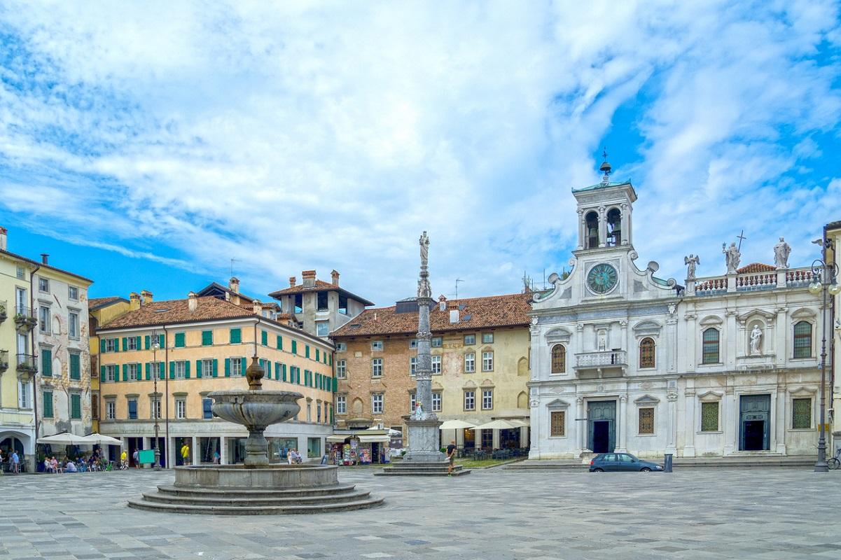 Udine cosa vedere piazza San Giacomo