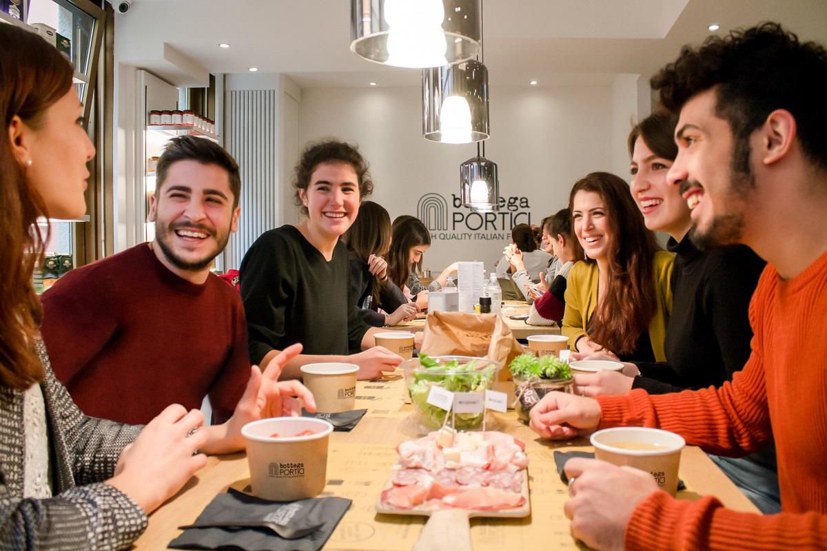 Bologna dove mangiare spendendo poco credits Bottega Portici