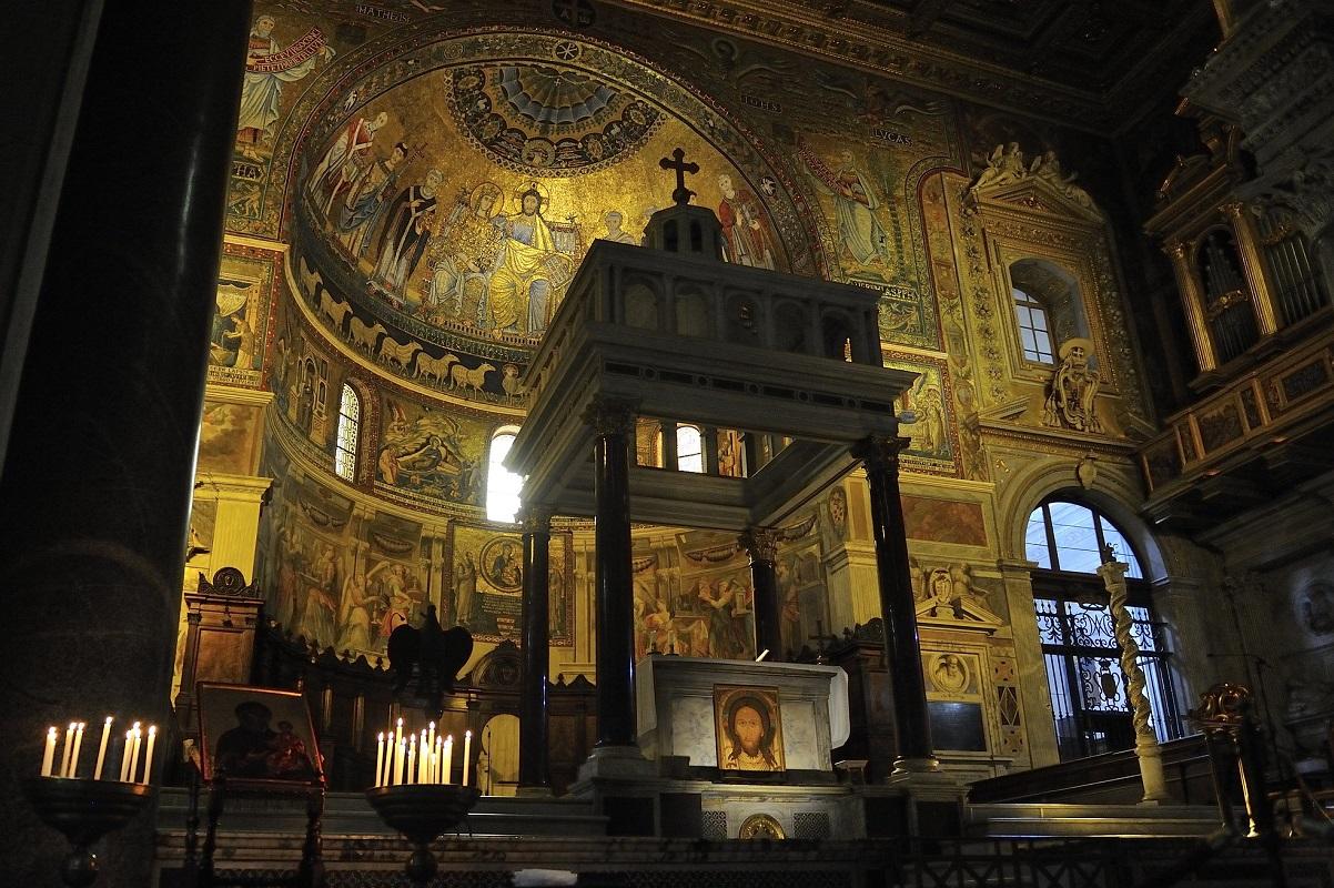Cosa vedere a Roma Trastevere Basilica credits Rog01 via flickr