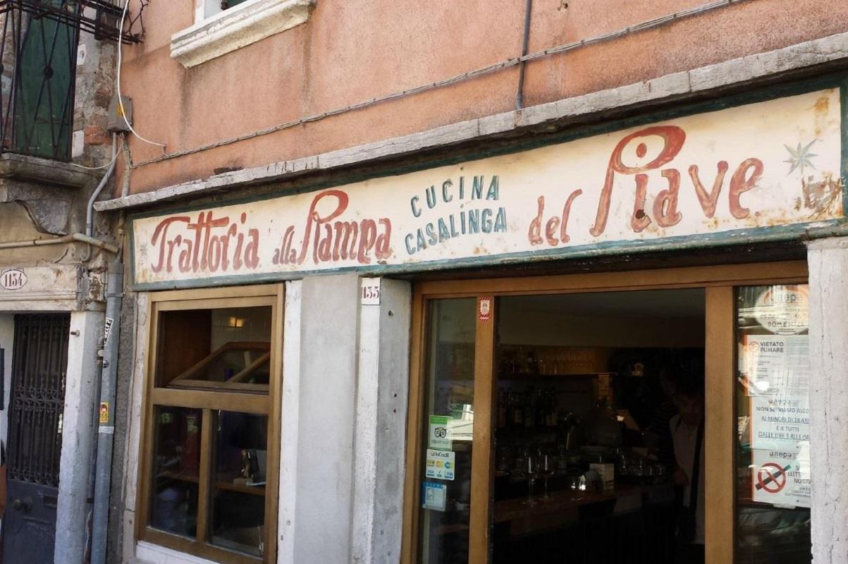 Dove mangiare a Venezia spendendo poco Trattoria alla Rampa